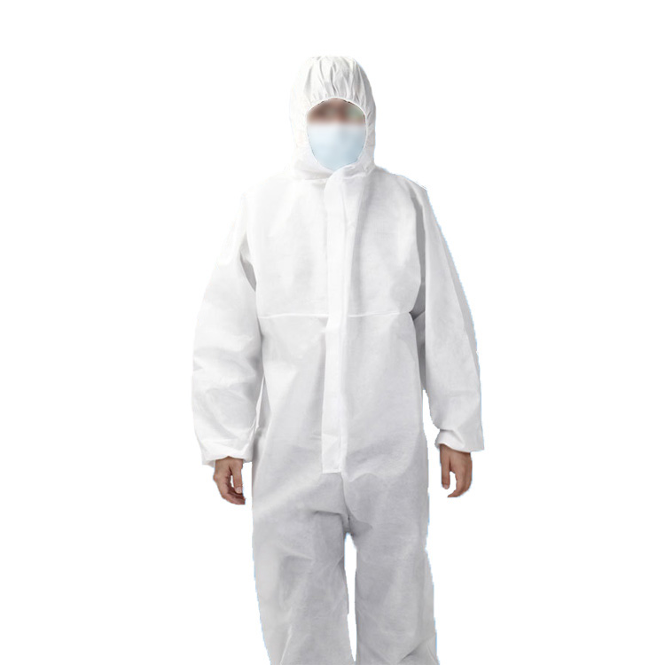 Medical Isolation Gown Safety Clothing Protective Coverall Suit