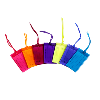 13125 Colored PVC Luggage Tag