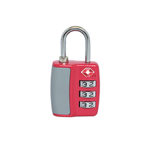13331 Zinc Alloy TSA 007 Lock 3 Digital Combination Luggage Lock
