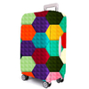 16861B Travel Colorful Suitcase Protector Elastic Spandex Luggage Cover