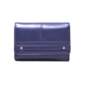 13587A PU Women Short Wallet with Advanced RFID Secure