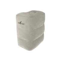 16437A Comfortable PVC Flocking Foot Rest Pillow