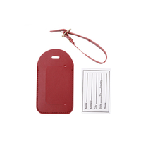 13010 Portable PU Luggage Tag