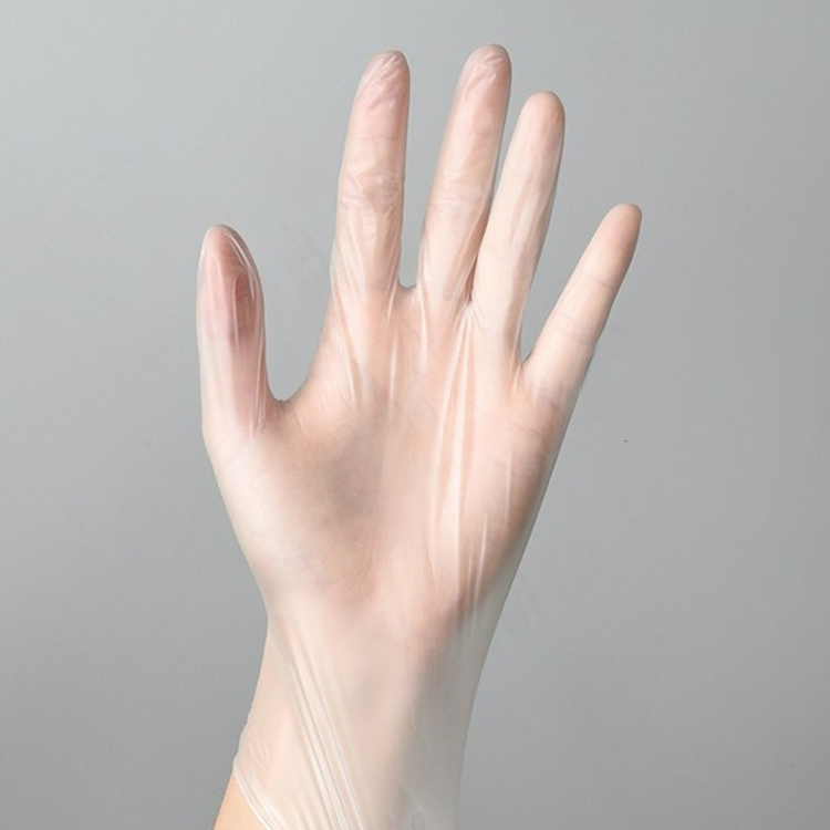 Eco-Friendly Transparent PVC Disposable Gloves