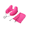 13411PVC Flight Sleeping Resting Pillow Inflatable Travel Neck Pillow U Shape Neck Pillow with Eye Mask And Earplug