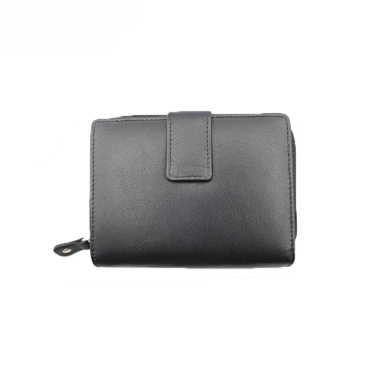 13599A Leather Women Wallet with Advanced RFID Secure