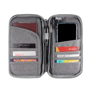13599D Portable RFID Passport Holder